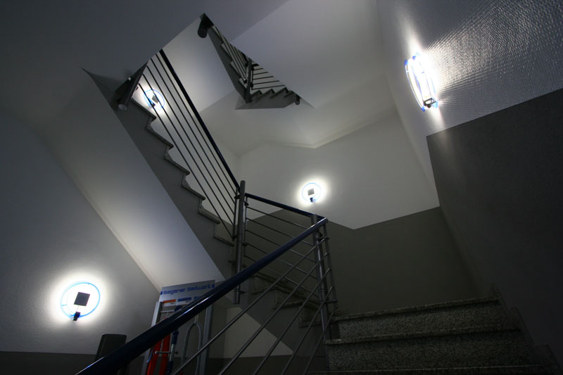 Malerbetrieb utsch ralf utsch treppenhaus buschh tten - Gestaltung treppenhaus bilder ...
